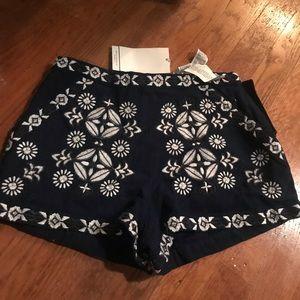 Zara shorts- rags on